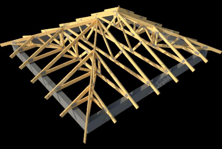 Как покрыть четырехскатную крышу своими руками 66