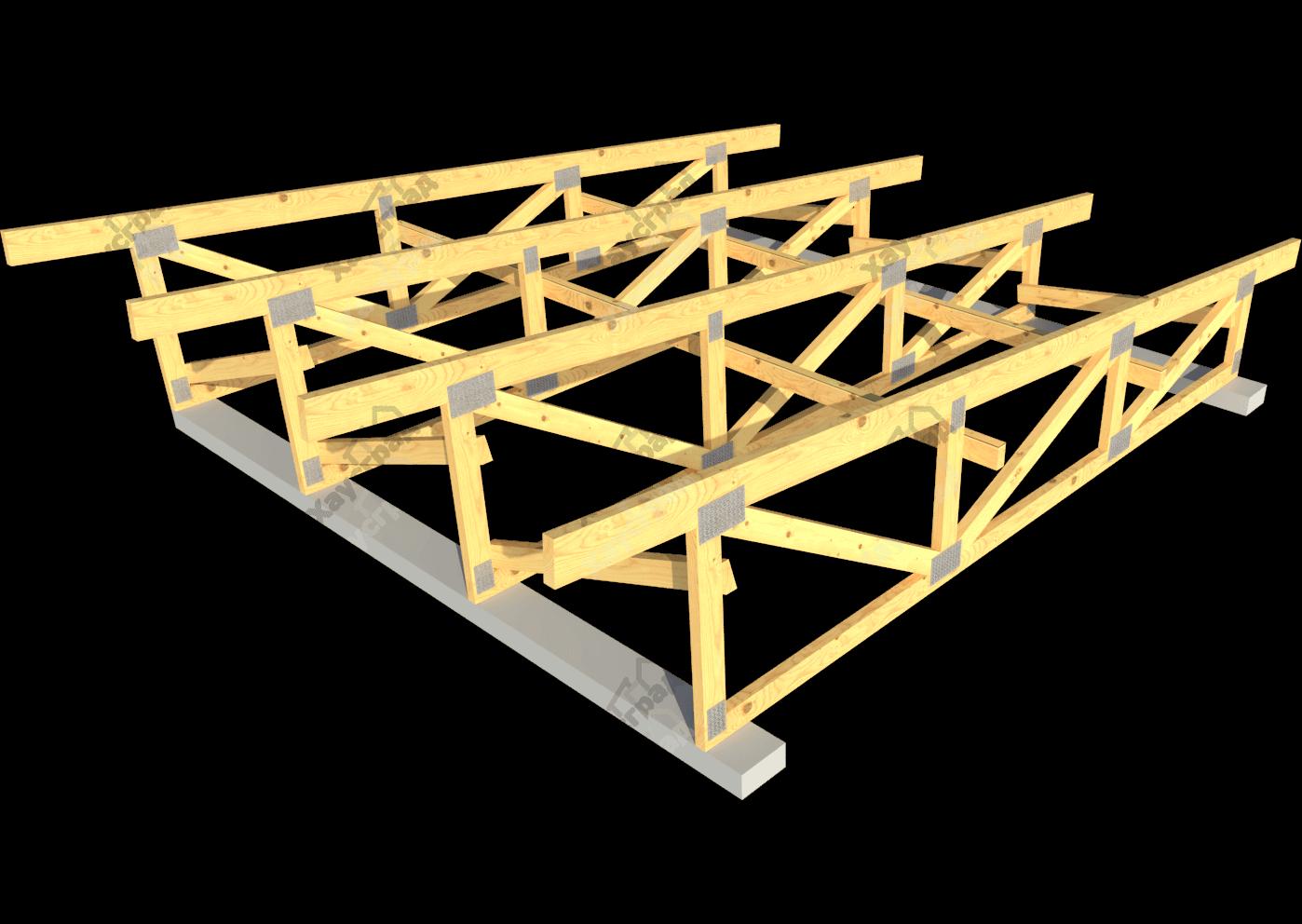 Односкатная крыша своими руками: как сделать, устройство 95