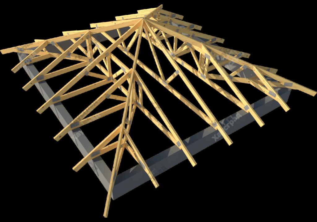 Крыша шатровая своими руками 84