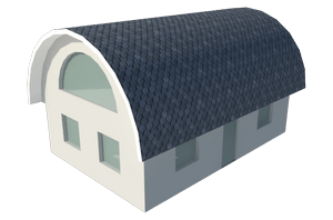 Арочная сводчатая крыша