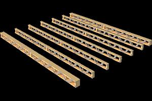 деревянные балки перекрытий