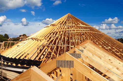 деревянные фермы купольной крыши