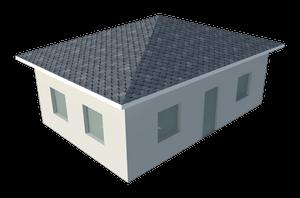 Шатровая крыша (пирамида)