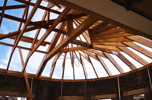 стропильная система купольной крыши
