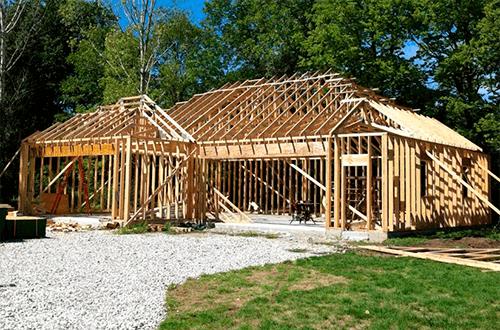 стропильные фермы г-образной крыши