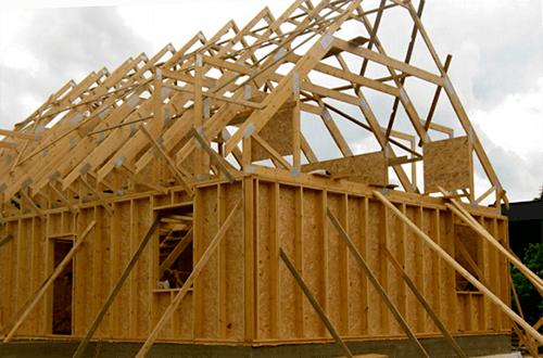 стропильные фермы мансардной крыши