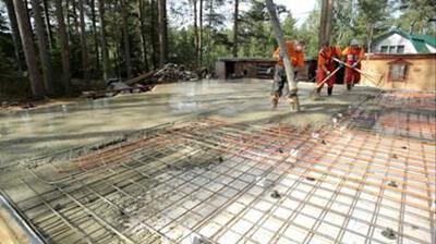 УШП заливка бетоном