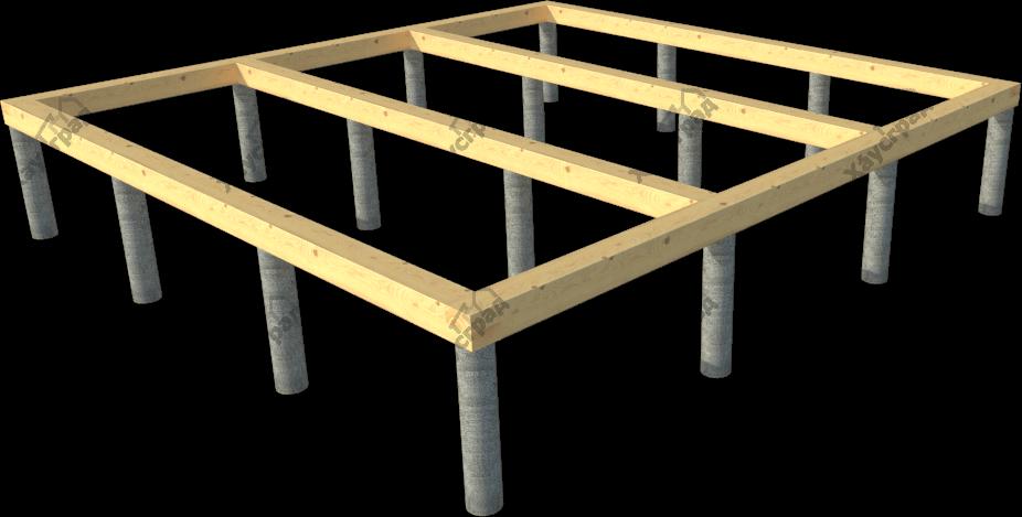 фундамент недорогих дачных домов