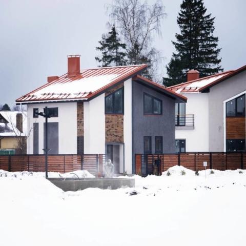 Дома БЭНПАН в коттеджном поселке