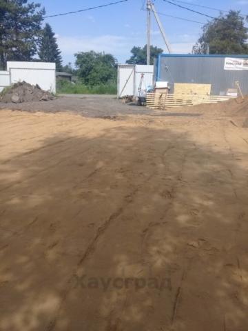 Площадка под фундамент